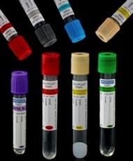 Tubos para coleta de sangue a v�cuo - Pl�stico ou Vidro
