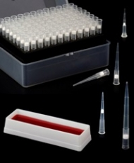 Ponteiras PCR com filtro, recipientes para pipetagem BIONAKY