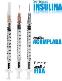Seringas para insulina